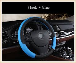 Fashion Sport Style Leather car steering wheel cover For Toyota ...