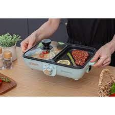 Bếp nướng điện mini 2 trong 1 Silvercrest - Nội địa Hàn giá cạnh tranh