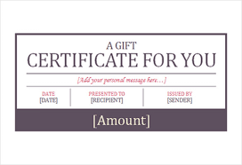 Gift Voucher Free Template Hotel Gift Certificate Templates 10 Free Word Pdf Psd Eps