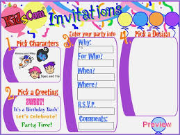 online free birthday invitations birthday invitation card maker online free draestant info