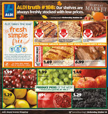 check out the aldi flyer to get all the important weekly deals