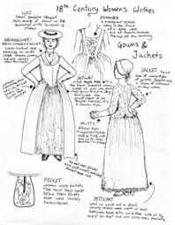 i m fascinated by working class historical clothes this one is women s clothes part 2 by goldenspring com on part two acircmiddot 18th century dress18th