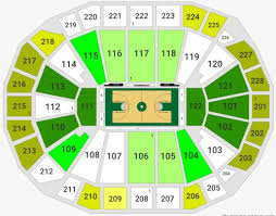 Seating Chart Fiserv Forum