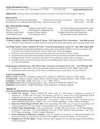 Memory Design Engineer Sample Resume New ASIC Design Engineer VLSI Desing Engineer CV Resume Templates