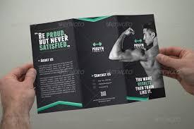 Fitness Brochures Soca Templates