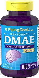 Buy <b>DMAE 250 mg 100</b> Capsules | DMAE Benefits | Piping Rock ...