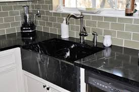 black marble countertops home depot