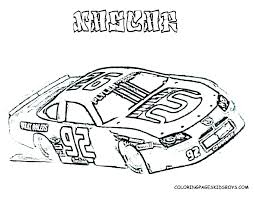 Car Coloring Pages To Print Printable Police Cars Free Sheets Race 2