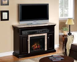56 brighton coffee black electric fireplace a cabinet