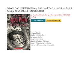 pdf epub harry potter and the sorcerer s stone by j k rowling read ebook kindle pages 1 4 text version fliphtml5