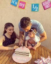 Half Birthday To You Inaaya