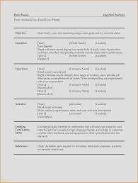 Extracurricular Activities Resume Book Of Extracurricular Activities