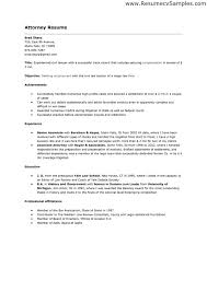 sample resume for attorney  tomorrowworld cosample resume for attorney