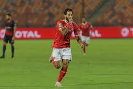 مروان محسن لحظة إحرازه هدف التقدم... - African Football Today