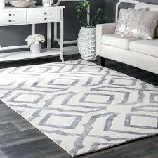 light grey area rug gray solid 5x7