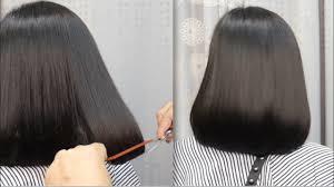 Bob Haircut Tutorial ตดผมบอบปลายงม แบบพอมดได видео