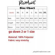 Romwe Size Chart Romwe Womens Short Sleeve Floral Print Summer Beach Casual