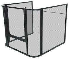 mesh nursery guard fire screen
