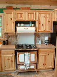 Maple Kitchen Cabinets Lowes Dark Knotty Pine Kitchen Cabinets Quicuacom