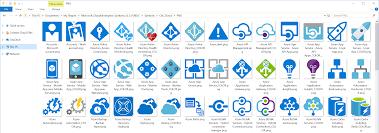 Microsoft Azure Symbol Icon Set Download Visio Stencil