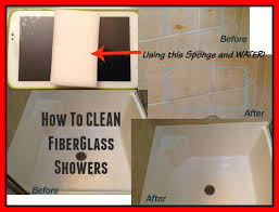 architecture and home attractive cleaning fiberglass shower in how to clean and bathtubs one step