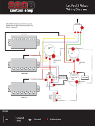 wiring diagram humbucker les paul wiring image gibson 3 pickup wiring diagram jodebal com on wiring diagram 3 humbucker les paul