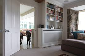 corner furniture for living room. Radiator Cover With Curved Corner And Shelves - View 1 Furniture For Living Room