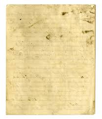 Letter Young John Allen Papers