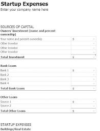 Startup Business Plan Sample Financial Plan Template Pdf Simple Startup Business Proposal