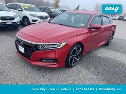 2019 honda accord sedan sport 1 5t