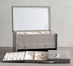 best jewelry box mckenna leather jewelry armoire