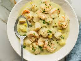 Scallop Seafood Chowder Recipe