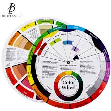 Us 3 12 21 Off Biomaser Ink Chart Permanent Makeup Coloring Wheel For Amateur Select Color Mix Professional Tattoo Pigments Wheel Swatches In Tattoo