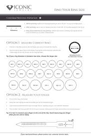 How To Find Ring Size Chart Iconic Engagement Rings Diamonds And Gemstone Jewelry