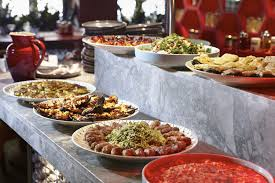 round table lunch buffet hours home decor as well as best supeb food buffet table ideas