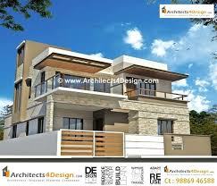 residential house elevations give for client building construction plans india free