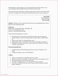 Objective Sample For Resumes 10 Hospitality Resume Objective Examples Cover Letter