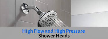 high pressure shower heads