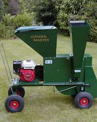garden shredder. Garden Master Shredder Chipper 5.5hp Manual Start Honda Engine