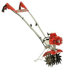21cc 2 cycle plus gas mini tiller with faststart