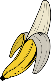 banana clipart black and white. banana clipart free images black and white