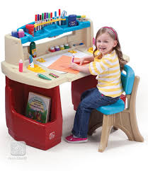 deluxe art master desk kids step2 step 2 art desk costco desk home design ideas