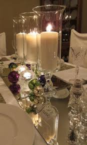 Mirror Tiles For Table Decorations Simple but elegant I never thought of putting mirrors on my 2