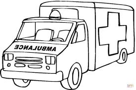 Disegno Di Ambulanza Da Colorare Disegni Da Colorare E Stampare Gratis
