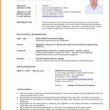Resumes Samples 2016 Resume Cv Cover Letter Latest Format For