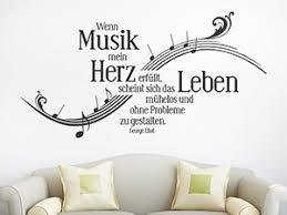 Musik Wandtattoos Noten Und Notenlinien Als Deko Wandtattoode
