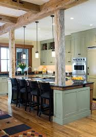 Rustic exposed beams