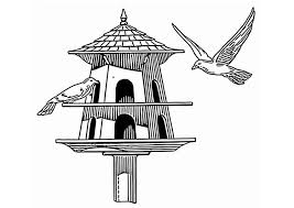 Small Picture Coloring page bird feeder img 20683