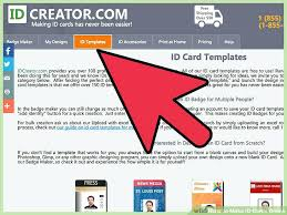 Cards Free Badge – Id Core Azulnaranja Template Online Computer co Maker Card Makers Definition Fbi
