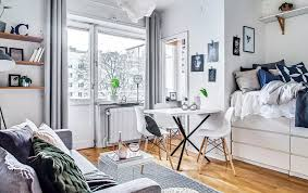 Image Multi Utility Optimizing Functionality In Small Studio Apartment Layout Space Optimized Optimizing Functionality In Small Studio Apartment Layout
